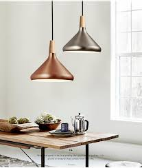 Nordic Retro <b>Pendant Lights Modern Led</b> Pendant Lamps Copper ...