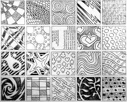 Zentangle Patterns Interesting Decorating