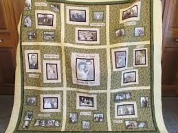 66 best Quilts: Memory Quilts images on Pinterest | Photo quilts ... & The memory/photo quilt another pinner made for my parents' 70th  anniversary. I Adamdwight.com
