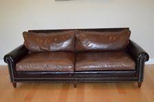 ralph lauren sofa. Rare Ralph Lauren Custom McIntyre Sofa \u0026 Loveseat Brown Crocodile Design T