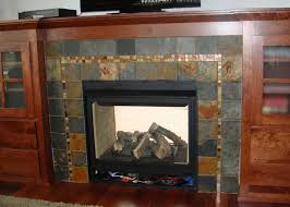 Interior Design Industrial Home Slate Gray Reclaimed Wood Modern Slate Fireplace