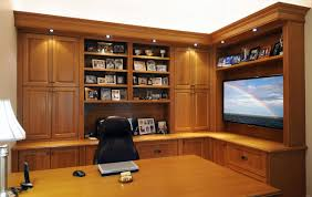 Wall Units, Custom Built Office Cabinets Built In Home Office Designs Corner  Office Cabinet With