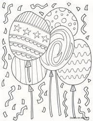 We have selected the best free birthday coloring pages to print out and color. Birthday Coloring Pages Doodle Art Alley