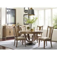 slat back chairs. Evoke Round Dining Set W/ Slat Back Chairs