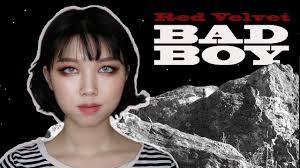 red velvet bad boy wendy makeup 레드벨벳 웬디 메이크업