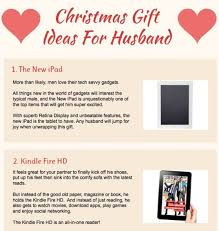 christmas gift ideas for husband 1