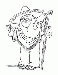 Small Picture Coloring Pages Mexican Coloring Pages Coloringsuite Mexican