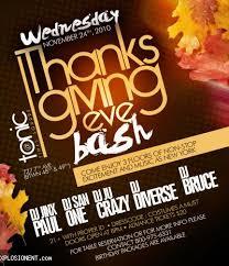 thanksgiving party flyer thanksgiving nightclub flyer 1 soultravelmultimedia