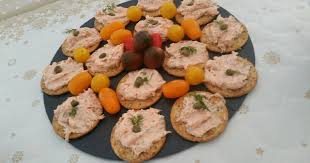 tangy smoked salmon mousse for party starters