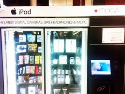 Logitech Vending Machine Extraordinary Macy's Will Now Sell You An IPad From A Vending Machine [Video