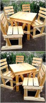 patio picnic table recycled wood pallet patio picnic table do it yourself projects pallet patio wood