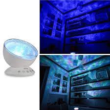 Ocean Night Light Ocean Wave Music Projector Lamp Led Night Light