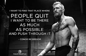Mma Quotes Gorgeous Best Health And Fitness Quotes Conor McGregor Quotes UFC MMA