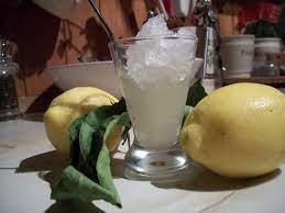 Lemon Granita   Granita, Glass of milk, Beverages