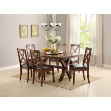 better homes and gardens dining table. Better Homes And Gardens Maddox Crossing Dining Table, Brown - Walmart.com Table U