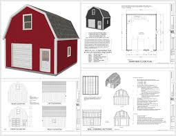 and free loft log shed style cabin apartment living home walkout barn plans floor cottage ranch