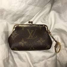 louis vuitton coin purse. louis vuitton vintage kiss lock coin purse s