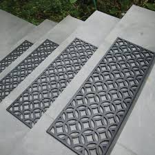 new rubber stair treads