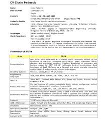 Android Developer Resume 4 Samples Techtrontechnologies Com
