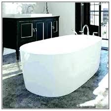 4 ft bathtub bathtubs foot corner shower with surround frameless door home depot long inch 4 ft