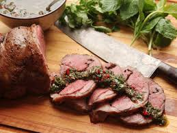 Boneless Leg Of Lamb Cooking Time Chart Sous Vide Leg Of Lamb With Mint Cumin And Black Mustard Recipe