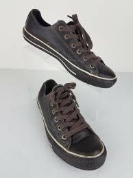 converse all star uni leather espresso brown 1j861 size mens 7 womens 9