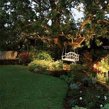 backyard landscape lighting. lighting not just your homeu0027s exterior but also yard can be done for almost no money with solar power must do this in our backyard beautiful landscape n
