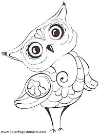 Owl Mandala Coloring Pages Free Owl Color Page Coloring Page Of An