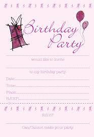 birthday party invitation templates drevio invitations design 425306 birthday invite template u2013 printable kids