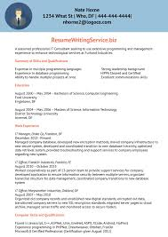 Information Technology Resume Sample Cover Letters Training Consultant Information Technology 10