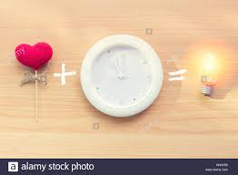 Lighting Time Clock Love From Heart With Clock Time Can Bring New Idea Lighting