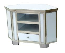 white glass furniture. Mirrored \u0026 White Glass Tall Corner TV Cabinet Furniture