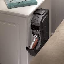 Woodmark Gun Cabinet Gunvault Speedvault Biometric Lock Gun Safe Reviews Wayfair