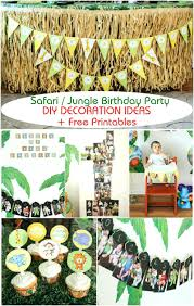safari themed decor jungle first birthday party part iii decoration ideas  free included decorations . safari themed decor ...