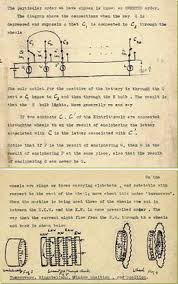 best turing enigma ideas alan turing alan extracts from turing s notes on the enigma machine c 1939 42 the
