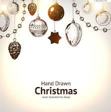 hanging christmas ornaments vector. Wonderful Vector Hand Painted Christmas Hanging Ornament Vector Material On Hanging Ornaments Vector N