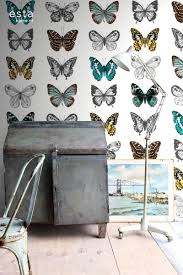 Muurposter Grote Vlinders Funkywalls Dé Webshop Voor Vintage En