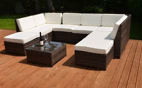 how to clean artificial rattan garden furniture