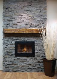 Stone Fireplace Remodel Faux Stone Panel Quick Fit Stone Pinteres