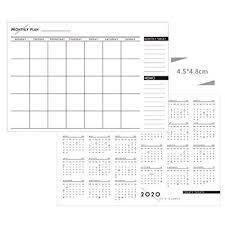 Calendar To Fill In 2020 Monthly Schedule Calendar Home Planner Wall Calendar