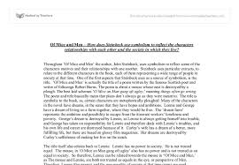 of mice and men essay essays for online written by top of mice and men at com view larger