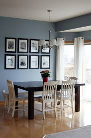 back when i worked with my pal becky on her living and dining area we were working with oak trim cabinets and floors to balance all that oak the walls