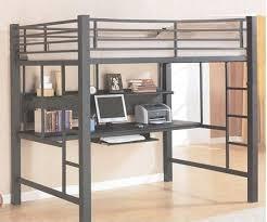 bunk bed with desk. Coaster Fine Furniture 460023 Loft Bed With Desk (Workstation) Bunk