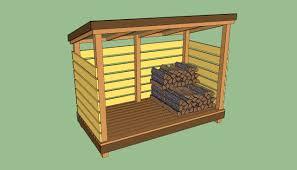 wood storage shed plans