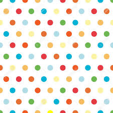 Polka Dot Pattern Best Polka Dots Background Pattern In Bright Colors Stock Photo Picture