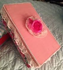 Decorating A Shoe Box Paint or cover a shoe boxdecorate with ribbons craft 79