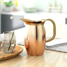 copper water pitcher india solid copper water pitcher india