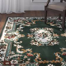 N ORIENTAL GREEN AREA RUG 2 X 8 RUNNER PERSIAN CARPET 83  ACTUAL 1u0027 10