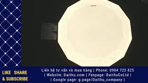 Đèn LED Ốp trần Kim cương Kosoom 24W - 3 chế độ - Đèn trang trí cao cấp -  Ánh sáng đẹp sang trọng - YouTube