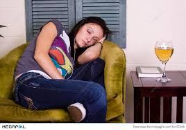 Teen cute sleeping teen girl